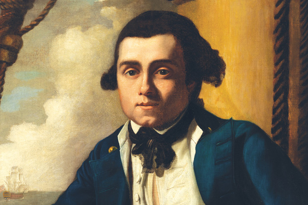 Portrait of William Bligh, in master's uniform c.1776 attributed to John Webber R.A. (1751-1793) oil on canvas Collection: National Portrait Gallery, Canberra. Purchased with funds provided by the Liangis family 2015.