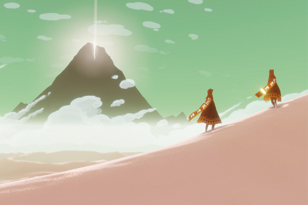 """""""Journey"""".  Distributed by Sony Entertainment."""
