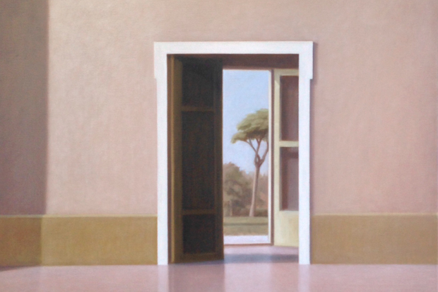 Peter Boggs Glimpse from the Villa  (Rome)