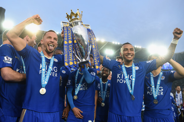 Leicester City celebrate (Photo: Getty)