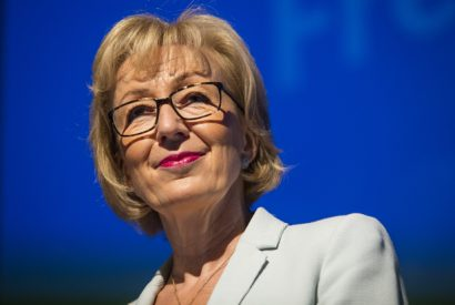 Andrea Leadsom Holds A Rally To Bid For Support In The Conservative Leadership