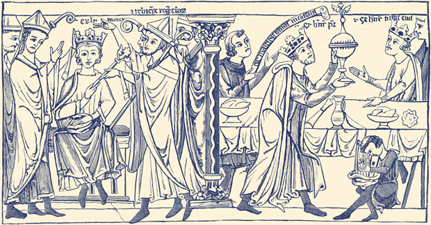 Coronation of Henry the Young King