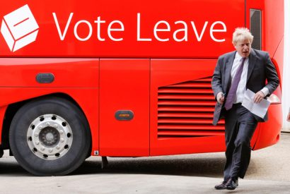 Vote Leave Campaign Bus Tour In The Southwest