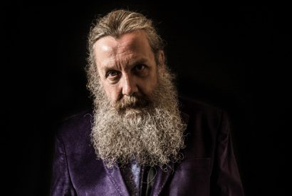 Alan Moore Portrait Shoot, London