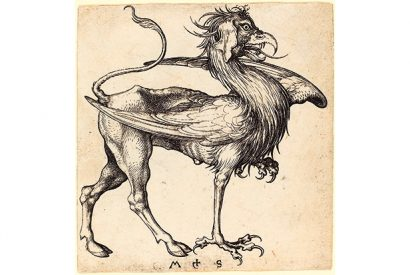 Martin_Schongauer_The_Griffin_15th_century