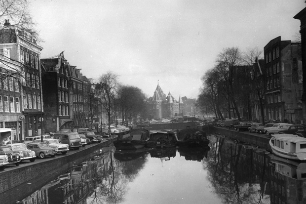 Canal At Amsterdam