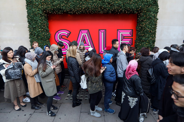 First Day Of Post-Christmas Retail Sales As Consumer Confidence Falls To Its Lowest Level Since July