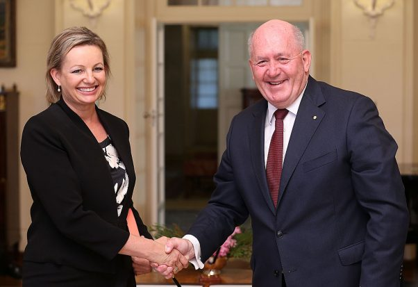 Governor-General Swears-In New Ministry