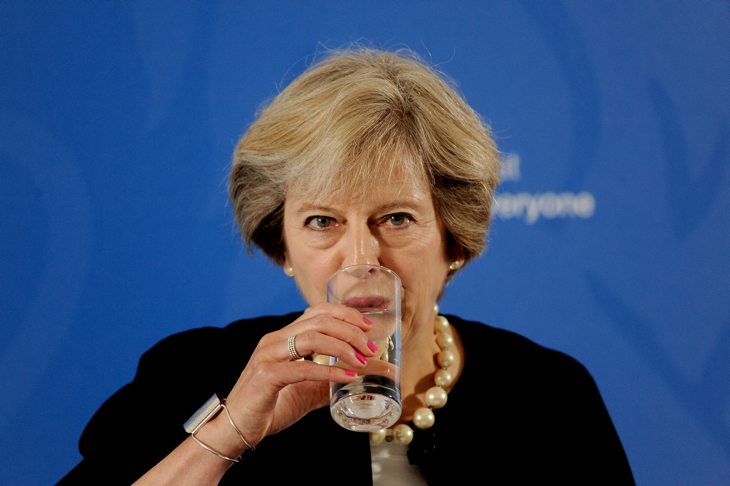 Theresa May Gives First Domestic Policy Speech