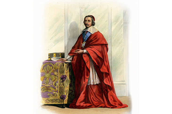 Cardinal Richelieu is transformed from villain to 'physical and moral genius' in Dumas's sequel to The Three Musketeers