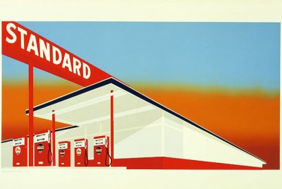 American beauty: 'Standard Station', 1966, by Ed Ruscha
