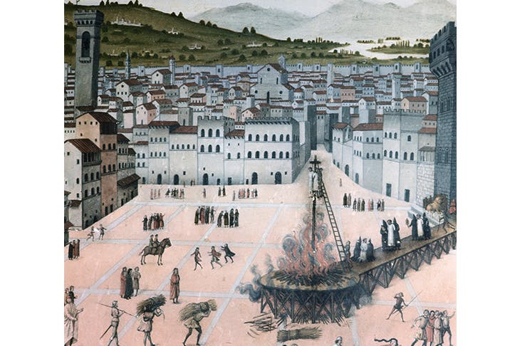 The burning of Savonarola (detail) Getty Images